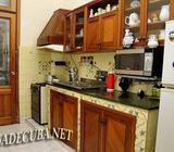 Casa de renta en el vedado, Cuba. 3 habitaciones. Apartamento independiente