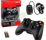 Mando de Xbox 360 Inalambrico Original de Microsoft USB para PC o Xbox 53609111