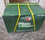 Bateria de litio 72v con 30amp+cargador 54760519