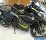 vendo moto electrica mishozuki racing litium color blanca y negra 0 km