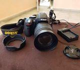 Cámara Nikon D5100 como nueva!!
