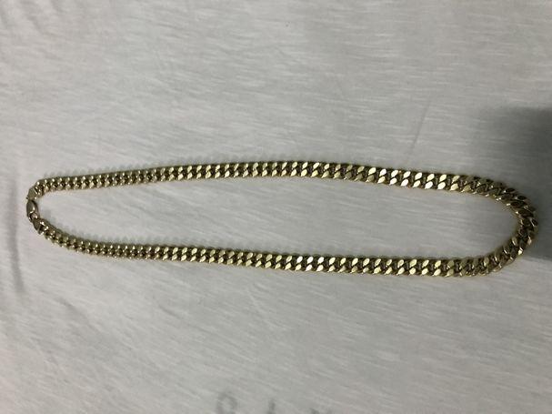Vendo cadena de oro 14k original 63g buen grosor 67cm