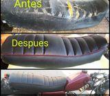 Asientos d motos personalizados estilo moderno o retro vintage