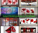 Se pintan cuadros minimalistas al mejor precio 52503440