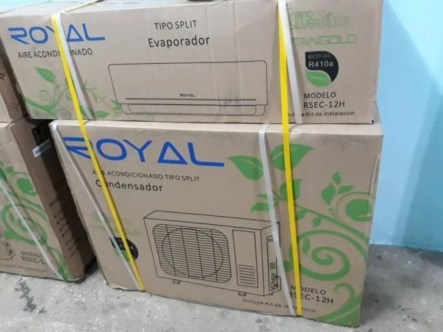 Vendo split marca ROYAL 1T