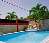 Disponible septiembre: Villa con piscina en Guanabo, 4/4, a 2cuadras del mar