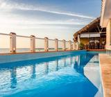 Villa en playa Santa Fe, piscina, salida directa al mar y 4/4. Llame AHORA!!!!
