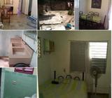 Casa 3/4, Las Tunas, independiente, patio, 19000 negociable