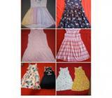 Vestidos hermosos HyM de niñas de 1 a 10 años. Variedad y calidad 5385+02*91