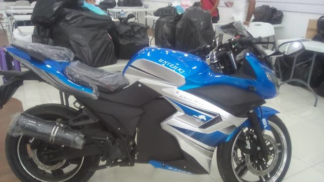 últimas motos eléctricas tipo racing! batería de litio