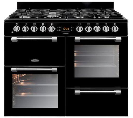Cocina de gas de 7 hornillas y 2 hornos