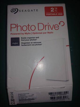 Vendo disco duro seagate nuevo en su caja 2tb