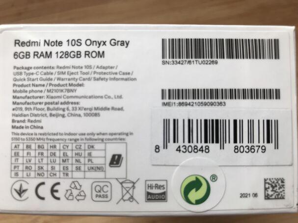 Vendo Samsung gala y A32 5G 128G y reminote 10S 128G